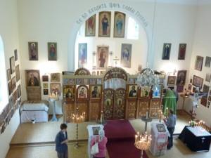 Внутренний вид церкви Покрова Пресвятой Богородицы в Регенсбурге