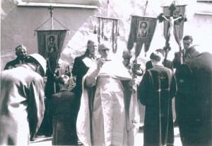 о. Алексей (Пузанов) на крестном ходе