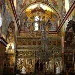 Православный храм Преображения Господня на горе Фавор.