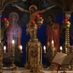 Липси. Алтарь храма чудотворной иконы