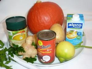 Из этих продуктов готовим суп из тыквы