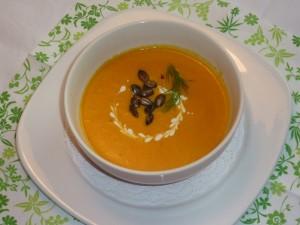 Пряный и нежный суп из тыквы