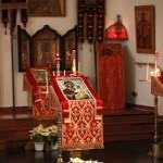 02. Икона Пресвятой Богородицы в правой части храма