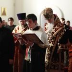 07. Рукополагаемый диакон читает отрывок из Апостола