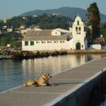 Самый туристский мотив о.Корфу - маленький монастырь Божией Матери Влахернской