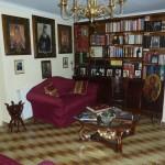 Библиотечка в странноприимном доме монастыря Панагии Кассопитры