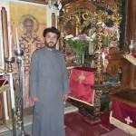 В храме у чудотворной иконы Божией Матери Миртиотиссы