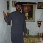 о. Даниил в часовне Преподобного Серафима Саровского