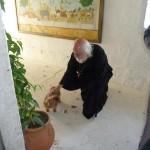 Мирошка - любимая собачка о. Даниила