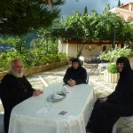 Гостеприимная встреча в монастыре св. Параскевы Римской