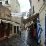 Улицы Керкиры после редкого здесь летнего дождя
