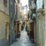 Улица в старом городе. Керкира, Корфу