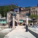 Ворота в монастырь Дохиар