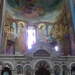 Церковь Кашвети. Алтарная апсида с росписью Ладо Гудиашвили
