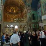 Заупокойная служба в Сиони