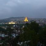 Тбилиси ночью. Золотая Самеба
