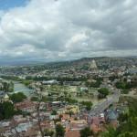 Вид Тбилиси от крепости Нарикала