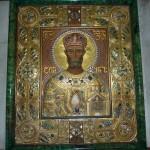 Драгоценная икона св. Давида Строителя, грузинского царя