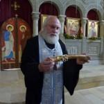 Шио-Мгвинский монастырь. Драгоценная реликвия - часть мощей основателя грузинского монашества - Шио Мгвиме