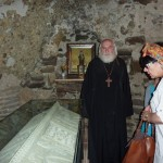 Место затвора и упокоения св. Шио Мгвимского