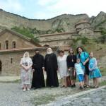 Мцхета. В Шио-Мгвимском монастыре