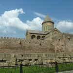 Мцхета. Крепостные стены Светицховели